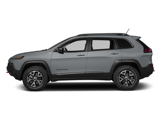 Billet Silver Metallic Clearcoat 2014 Jeep Cherokee Pictures Cherokee Utility 4D Trailhawk 4WD photos side view