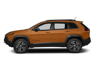 Mango Tango Pearlcoat 2014 Jeep Cherokee Pictures Cherokee Utility 4D Trailhawk 4WD photos side view