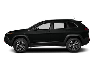 Brilliant Black Crystal Pearlcoat 2014 Jeep Cherokee Pictures Cherokee Utility 4D Trailhawk 4WD photos side view