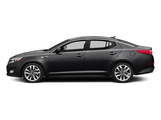 Ebony Black 2014 Kia Optima Pictures Optima Sedan 4D SX Limited I4 Turbo photos side view