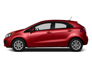 Signal Red 2014 Kia Rio Pictures Rio Hatchback 5D SX I4 photos side view