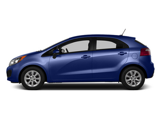 Electronic Blue 2014 Kia Rio Pictures Rio Hatchback 5D SX I4 photos side view