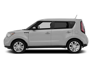 Bright Silver 2014 Kia Soul Pictures Soul Wagon 4D + I4 photos side view