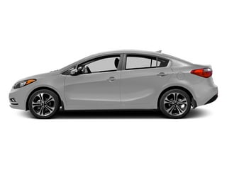 Bright Silver 2014 Kia Forte Pictures Forte Sedan 4D LX I4 photos side view