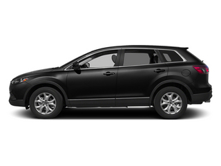 Jet Black Mica 2014 Mazda CX-9 Pictures CX-9 Utility 4D GT 2WD V6 photos side view