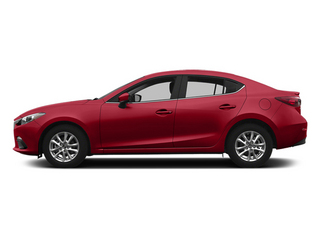Soul Red Metallic 2014 Mazda Mazda3 Pictures Mazda3 Sedan 4D s Touring I4 photos side view