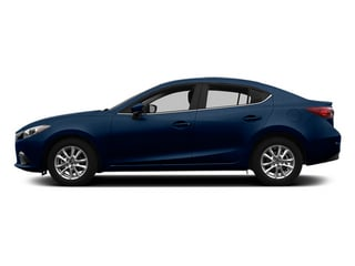 Deep Crystal Blue Mica 2014 Mazda Mazda3 Pictures Mazda3 Sedan 4D s Touring I4 photos side view
