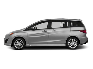 Liquid Silver Metallic 2014 Mazda Mazda5 Pictures Mazda5 Wagon 5D Touring I4 photos side view