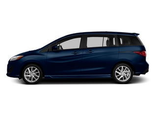 Deep Crystal Blue Mica 2014 Mazda Mazda5 Pictures Mazda5 Wagon 5D GT I4 photos side view
