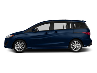 Deep Crystal Blue Mica 2014 Mazda Mazda5 Pictures Mazda5 Wagon 5D Touring I4 photos side view
