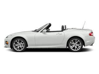 Crystal White Pearl 2014 Mazda MX-5 Miata Pictures MX-5 Miata Convertible 2D Club I4 photos side view
