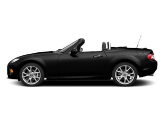 Jet Black 2014 Mazda MX-5 Miata Pictures MX-5 Miata Convertible 2D Sport I4 photos side view