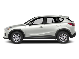Crystal White Pearl Mica 2014 Mazda CX-5 Pictures CX-5 Utility 4D GT 2WD I4 photos side view