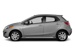 Liquid Silver Metallic 2014 Mazda Mazda2 Pictures Mazda2 Hatchback 5D Sport I4 photos side view