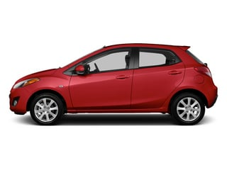 Zeal Red 2014 Mazda Mazda2 Pictures Mazda2 Hatchback 5D Sport I4 photos side view