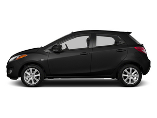 Jet Black 2014 Mazda Mazda2 Pictures Mazda2 Hatchback 5D Sport I4 photos side view