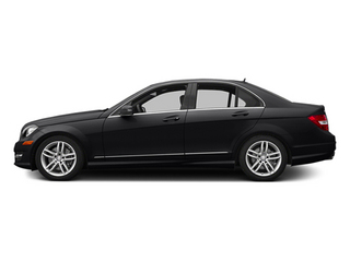Black 2014 Mercedes-Benz C-Class Pictures C-Class Sedan 4D C300 AWD photos side view