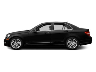 Magnetite Black Metallic 2014 Mercedes-Benz C-Class Pictures C-Class Sedan 4D C300 AWD photos side view