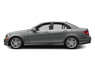 Palladium Silver Metallic 2014 Mercedes-Benz C-Class Pictures C-Class Sedan 4D C300 AWD photos side view