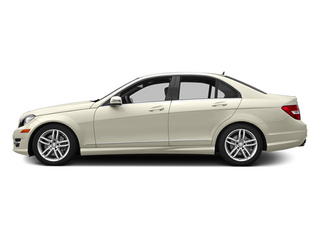 Diamond White Metallic 2014 Mercedes-Benz C-Class Pictures C-Class Sedan 4D C300 AWD photos side view