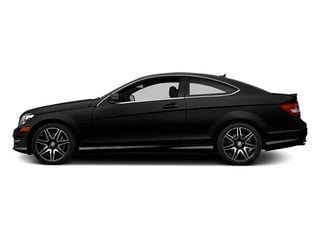 Obsidian Black Metallic 2014 Mercedes-Benz C-Class Pictures C-Class Coupe 2D C350 V6 photos side view