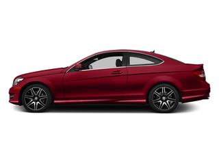 Mars Red 2014 Mercedes-Benz C-Class Pictures C-Class Coupe 2D C350 V6 photos side view