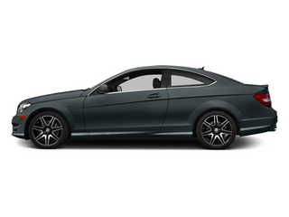 Steel Gray Metallic 2014 Mercedes-Benz C-Class Pictures C-Class Coupe 2D C350 V6 photos side view