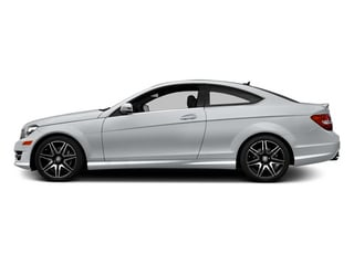Diamond Silver Metallic 2014 Mercedes-Benz C-Class Pictures C-Class Coupe 2D C350 AWD V6 photos side view