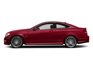 Mars Red 2014 Mercedes-Benz C-Class Pictures C-Class Coupe 2D C63 AMG V8 photos side view