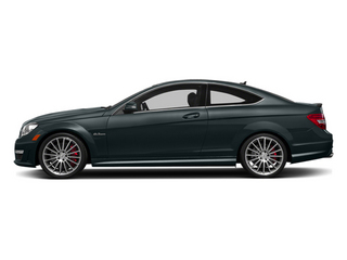 Steel Gray Metallic 2014 Mercedes-Benz C-Class Pictures C-Class Coupe 2D C63 AMG V8 photos side view