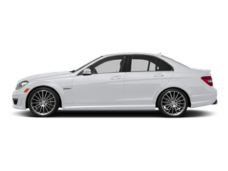 Polar White 2014 Mercedes-Benz C-Class Pictures C-Class Sport Sedan 4D C63 AMG photos side view