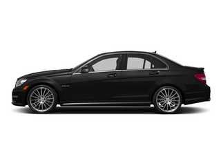 Obsidian Black Metallic 2014 Mercedes-Benz C-Class Pictures C-Class Sport Sedan 4D C63 AMG photos side view
