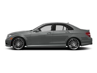Palladium Silver Metallic 2014 Mercedes-Benz C-Class Pictures C-Class Sport Sedan 4D C63 AMG photos side view
