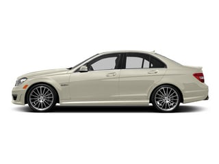 Diamond White Metallic 2014 Mercedes-Benz C-Class Pictures C-Class Sport Sedan 4D C63 AMG photos side view