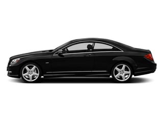 Obsidian Black Metallic 2014 Mercedes-Benz CL-Class Pictures CL-Class Coupe 2D CL550 AWD V8 Turbo photos side view