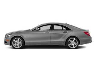 designo Magno Alanite Gray (Matte Finish) 2014 Mercedes-Benz CLS-Class Pictures CLS-Class Sedan 4D CLS550 AWD photos side view