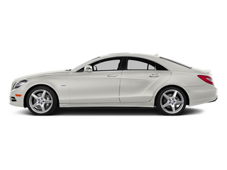 designo Magno Cashmere White (Matte Finish) 2014 Mercedes-Benz CLS-Class Pictures CLS-Class Sedan 4D CLS550 photos side view