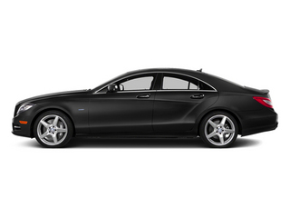 Obsidian Black Metallic 2014 Mercedes-Benz CLS-Class Pictures CLS-Class Sedan 4D CLS550 photos side view