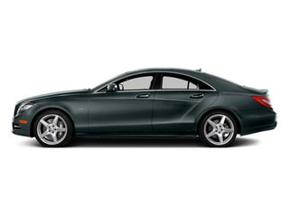 Steel Gray Metallic 2014 Mercedes-Benz CLS-Class Pictures CLS-Class Sedan 4D CLS550 AWD photos side view