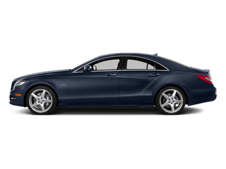 Lunar Blue Metallic 2014 Mercedes-Benz CLS-Class Pictures CLS-Class Sedan 4D CLS550 photos side view