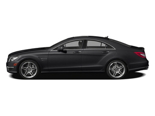 Steel Gray Metallic 2014 Mercedes-Benz CLS-Class Pictures CLS-Class Sedan 4D CLS63 AMG S AWD photos side view