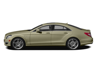 Pearl Beige Metallic 2014 Mercedes-Benz CLS-Class Pictures CLS-Class Sedan 4D CLS63 AMG AWD photos side view