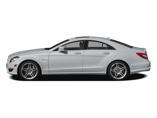 Diamond Silver Metallic 2014 Mercedes-Benz CLS-Class Pictures CLS-Class Sedan 4D CLS63 AMG S AWD photos side view