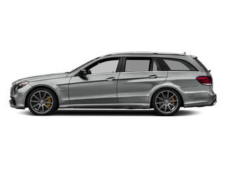 Palladium Silver Metallic 2014 Mercedes-Benz E-Class Pictures E-Class Wagon 4D E63 AMG S AWD V8 Turbo photos side view