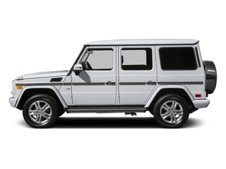 Polar White 2014 Mercedes-Benz G-Class Pictures G-Class 4 Door Utility 4Matic photos side view