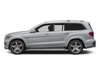 Diamond Silver Metallic 2014 Mercedes-Benz GL-Class Pictures GL-Class Utility 4D GL63 AMG 4WD V8 photos side view