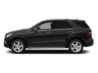 Black 2014 Mercedes-Benz M-Class Pictures M-Class Utility 4D ML550 AWD V8 Turbo photos side view