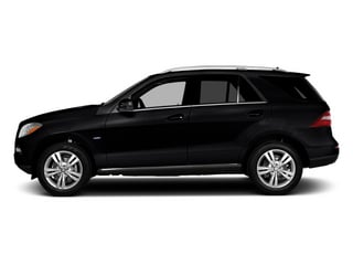 Black 2014 Mercedes-Benz M-Class Pictures M-Class Utility 4D ML350 2WD V6 photos side view