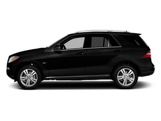 Obsidian Black Metallic 2014 Mercedes-Benz M-Class Pictures M-Class Utility 4D ML350 2WD V6 photos side view