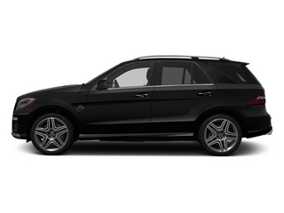 Black 2014 Mercedes-Benz M-Class Pictures M-Class Utility 4D ML63 AMG AWD photos side view